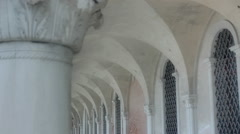 Ceiling of Doge's Palace Corridor Venice - 25FPS PAL Stock Footage
