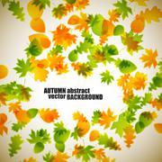 Stock Illustration of autumn background