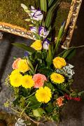 designer exclusive bouquet - stock photo