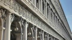 Sunshine on Procuratie Nuove Venice - 25FPS PAL Stock Footage