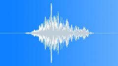 PBFX Deep whoosh to hit sci fi 966 Sound Effect