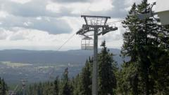 Cable Railway in Summer - Seilbahn im Sommer, Harz Stock Footage
