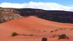 Coral Pink Sand Dunes, Utah, USA Stock Footage