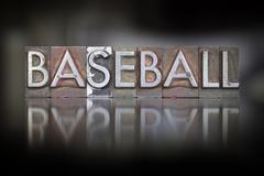 Baseball vintage kohopaino Kuvituskuvat