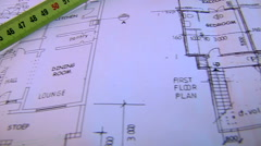 Building plans Stock Footage