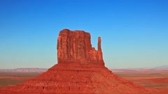 Monument Valley National Monument, Navajo Tribal Park, Utah Stock Footage