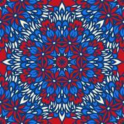 Arabesque seamless pattern. Stock Illustration