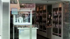 Swarovski store. Stock Footage