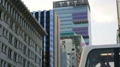Tsim Sha Tsui district. Stock Footage