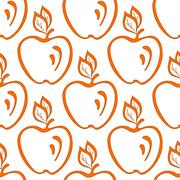 Background, apples Stock Illustration