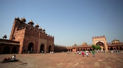 Jama Masjid Mosque Stock Footage