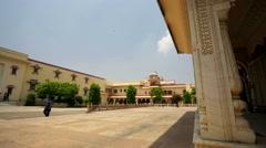 Chandra Mahal in City Palace Stock Footage