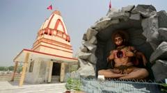 Parmarth Niketan ashram. Stock Footage