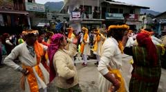Indian wedding ceremony Stock Footage