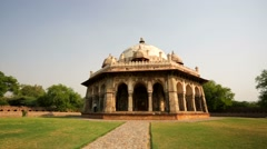 Isa Khan's Tomb Stock Footage