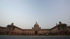 Central Secretariat Stock Footage