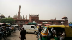 Jama Masjid Mosque Stock Footage