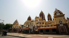 Laxminarayan Temple. Stock Footage