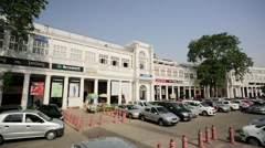 Connaught Place Stock Footage