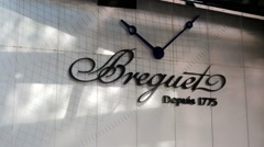 Breguet outlet. Stock Footage