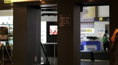 Nikon center. Stock Footage