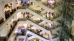 Berjaya shopping complex Stock Footage