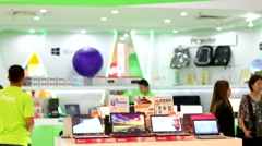 Acer store Stock Footage