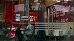 KFC Restaurant. Stock Footage