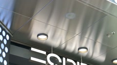 "Logo of the brand ""Esprit"" Stock Footage"