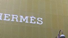 Hermes logo. Stock Footage