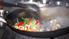 Chinese restaurant food Stock Footage