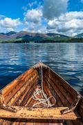 lake boating - stock photo