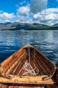 Lake boating Stock Photos