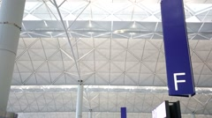 Hong Kong International Airport. Stock Footage
