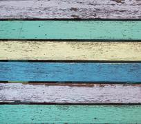 Stained timber texture Stock Photos