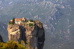 Greece, meteora, monastery holy trinity Stock Photos