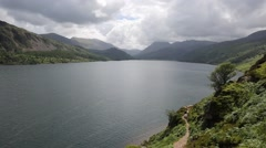 Stock Video Footage of Ennerdale Water Lake District National Park Cumbria England uk