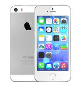 Silver iphone 5s - stock illustration