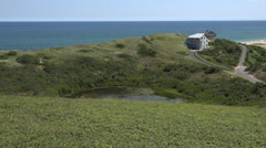 Ballston Beach Cape Cod, Truro Stock Footage