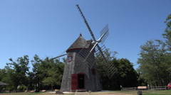 Eastham Windmill, Cape Cod Stock Footage