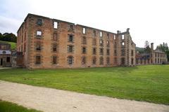 Prison port Arthur Tasmania, Australia Stock Photos