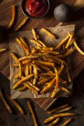 Stock Photo of cajun seasoned french fries