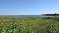 Fort Hill Trail, Eastham Cape Cod Stock Footage