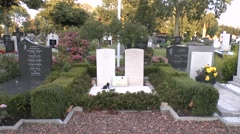 Memorial dedicated to the World War II RAF pilot, Guy Gibson. Stock Footage