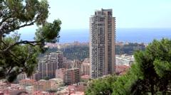 principality of monaco, montecarlo - stock footage