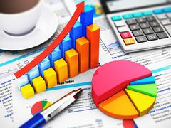 Stock Illustration of Business, finance and accounting concept