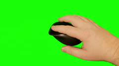 2167 Computer Mouse with Green Screen, HD Stock Footage