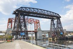 Transporter bridges la boca buenos aires Stock Photos