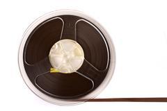 Audio tape reel Stock Photos