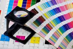 color management set - stock photo